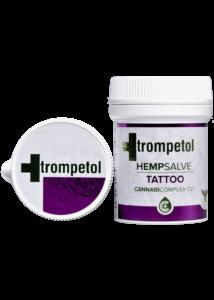 """CBD """"Trompetol"""" Kender Tartalmú Tetoválás Gyógyulását Elősegítő Krém 50 ml"""