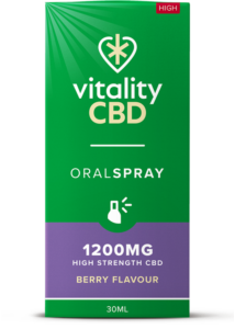 """Vitality"" Oral Spray Berry (1200 mg)"