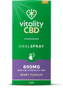 """Vitality"" CBD Oral Spray Berry (600 mg)"