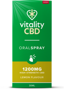 """Vitality"" CBD Oral Spray Citrom (1200 mg)"
