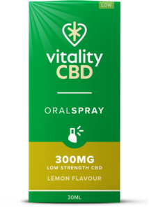 """Vitality"" CBD Oral Spray Citrom (300 mg)"
