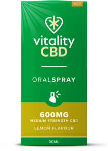 """Vitality"" CBD Oral Spray Citrom (600 mg)"
