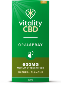 """Vitality"" Oral Spray Nature (600 mg)"